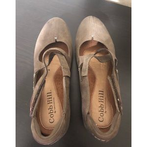 Cobb Hill Shoes - Cobb Hill Mary Jane Leather Shoes Size 8.5 M